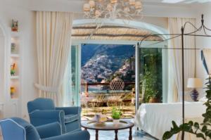 Il San Pietro, em Positano, um dos hotéis 5 estrelas na Itália