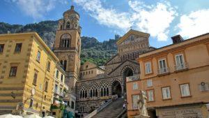 Catedral de Amalfi, na Costa Amalfitana